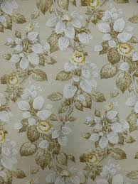 Gele Bloemen Vintage Behangpapier Funkywalls Dé Webshop Voor