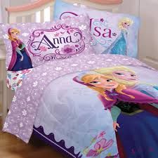 image of anna and frozen bedding set twin