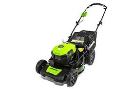 the green works product review for greenworks mo40l00 g max 40v 20 brushless dual