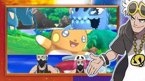 Pokémon Sun and Moon News Burst 11/8 - New Pokemon, Alola Forms and Team  Skull - Vooks