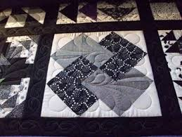 38 best Card trick quilts images on Pinterest   Beautiful ... & Black and White Quilt Adamdwight.com