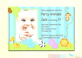 birthday invitation card for 1st birthday birthday invitation cards for baby boy free invitations 1 year