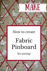 fabric pin board tutorial