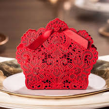 modern red design fv02 red lace favour box thl wedding cards Wedding Cards Latest Designs fv02 red lace wedding cards latest designs