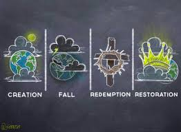 the big story of scripture creation fall redemption the big story of scripture creation fall redemption restoration in pictures your input requested