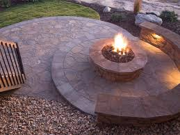 rounded this making a fire pit high quality
