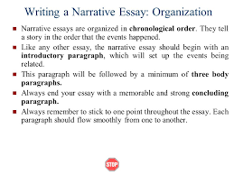 narrative essays ppt video online writing a narrative essay organization
