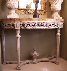 Antique Painted Console Table Home Images Painted Console Table