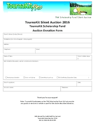 Auction Spreadsheet Ate Charity Pledge Form Donation Sheet