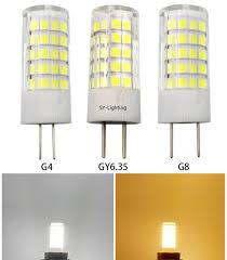 g4 g8 gy6 35 led smd bulb 64 2835 12v 110v 220v ceramics light white warm equivalent to 30 70w halogen lamp package of 10 led headlight bulbs halogen