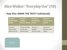 perspectives on heritage fiction ldquo everyday use rdquo by alice alice walker everyday use 58