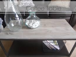 Lime Wash Coffee Table Sl Designs Diy Box Frame Coffee Table