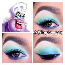 a softer touch on ursula s makeup from the little mermaid