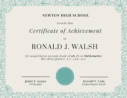 Free Online Printable Certificates Of Achievement Discreetliasons Com Customize 101 Achievement Certificate