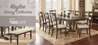 dining room set furniture. kaylee dining collection up to $500 off room set furniture