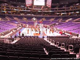 Staples Center Boxing Seating Chart Staples Center Seat Views Section By Section