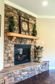 dry stack fireplace es stacked stone