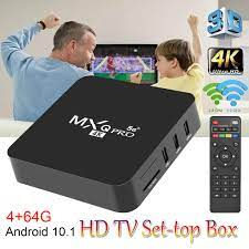 Buy 64GB/128G Android 10.1 Smart Box 4K HD 3D 2.4G WiFi S905W Quad Core  Media Player Smart TV Home Theater at affordable prices — free shipping,  real reviews with photos — Joom