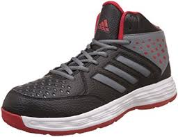 adidas basketball shoes womens. adidas men\u0027s basecut cblack, visgre and scarle basketball shoes - 8 uk/india ( womens