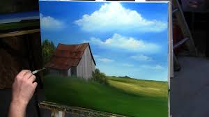 time lapse paintng old barn