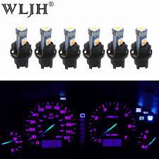 2002 Accord Clock Light Bulb Us 7 68 23 Off Wljh 6x Pc74 T5 Led Light Lamp Car Instrument Panel Light Dashboard Bulbs For Honda Accord Cr V Civic Odyssey Prelude Crx S2000 In