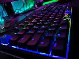 Gaming RGB Keyboard Wallpaper by ...