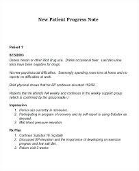 Daily Progress Note Template Hostup Co