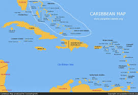 Chart Of Caribbean Islands Caribbean A Cruising Guide On The World Cruising And