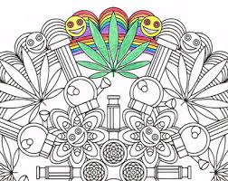 Small Picture Stoner coloring book Etsy