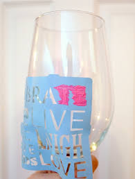 stenciled glass