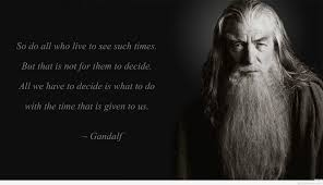 Lord Of The Rings Best Quotes