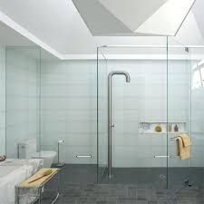 bathroom glass floor shower enclosures floor standing glass bathroom shelves