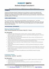 Business Analyst Consultant Resume Samples QwikResume Cool Business Skills For Resume