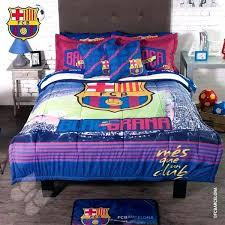 soccer bed set cotton single twin