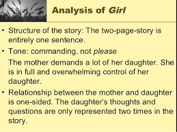 kincaid girl  7 analysis of girl