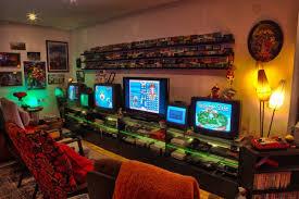 Old skool video game room ideas
