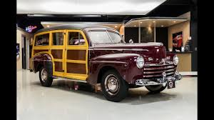 1947 Ford Woody Wagon For Sale - YouTube