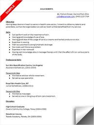Esthetician Resume Sample Resume Examples Pinterest Resume