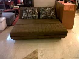 Sofa Bed Reclining Coklat 160 Cm dismok