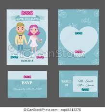 Photo Invitation Postcards Colorful Wedding Invitations Postcards Set