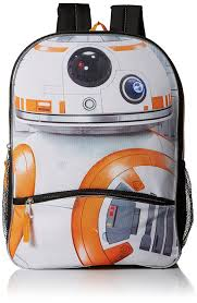 Bb8 Light Up Backpack Star Wars Boys Bb8 Backpack Click Image To Review More