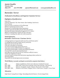 Bartender Resume Example 66 Images Bartender Waitress Resume