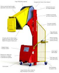 Bin Tipper Design Multi Tip