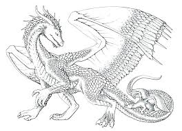 Free printable dragon coloring page. Pin On Dragons