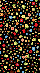 Cute Colorful Flower Pattern Iphone 6 ...