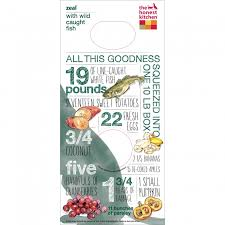 Zeal  Grain Free Fish Dog Food - Honest kitchen dog food