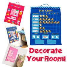 Fiesta Crafts Fabric Star Chart Fiesta Craftschildren Room Classroom Hanging Wall Chart Fabric Star Chart Calendar Product Of Uk