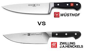 Kitchen Knife Comparison Chart Wusthof Vs Zwilling J A Henckels Differences