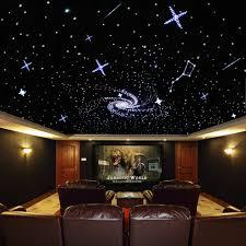 Led Star Ceiling Lights Us 215 38 31 Off 32w Rgb Twinkle Led Fiber Optic Star Ceiling Light Kit 480strands 0 75 1 1 5mm 3m Optical Fiber 28key Rf Remote In Optic Fiber