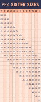 Studious 34h Bra Size Chart Wonderbra Size Conversion Chart